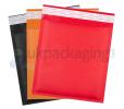Coloured Bubble Lined Envelopes