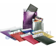 Metallic Coloured Bubble Envelopes
