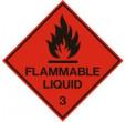 Flammable Liquid (100x100mm)