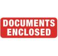Document Enclosed Labels (89x32mm)