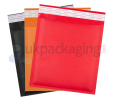 Coloured Bubble Lined Envelopes