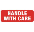 Handle With Care Labels (89x32mm)