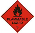 Flammable Liquid (100x100mm)