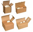 Brown Cardboard Mug Boxes