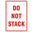 Do Not Stack Labels (108x79mm)