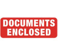 Document Enclosed Labels (89x32mm)