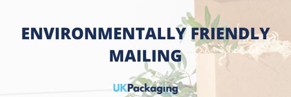 Environmentally Friendly Mailing Header