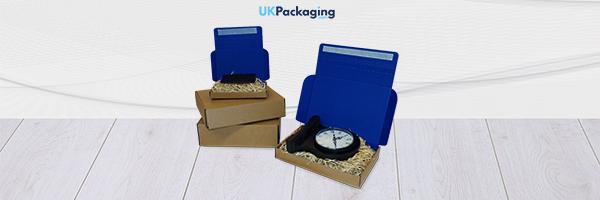 Blue Postal Box Header