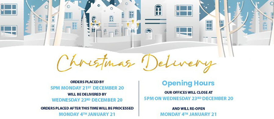 Christmas Delivery 2020 Header
