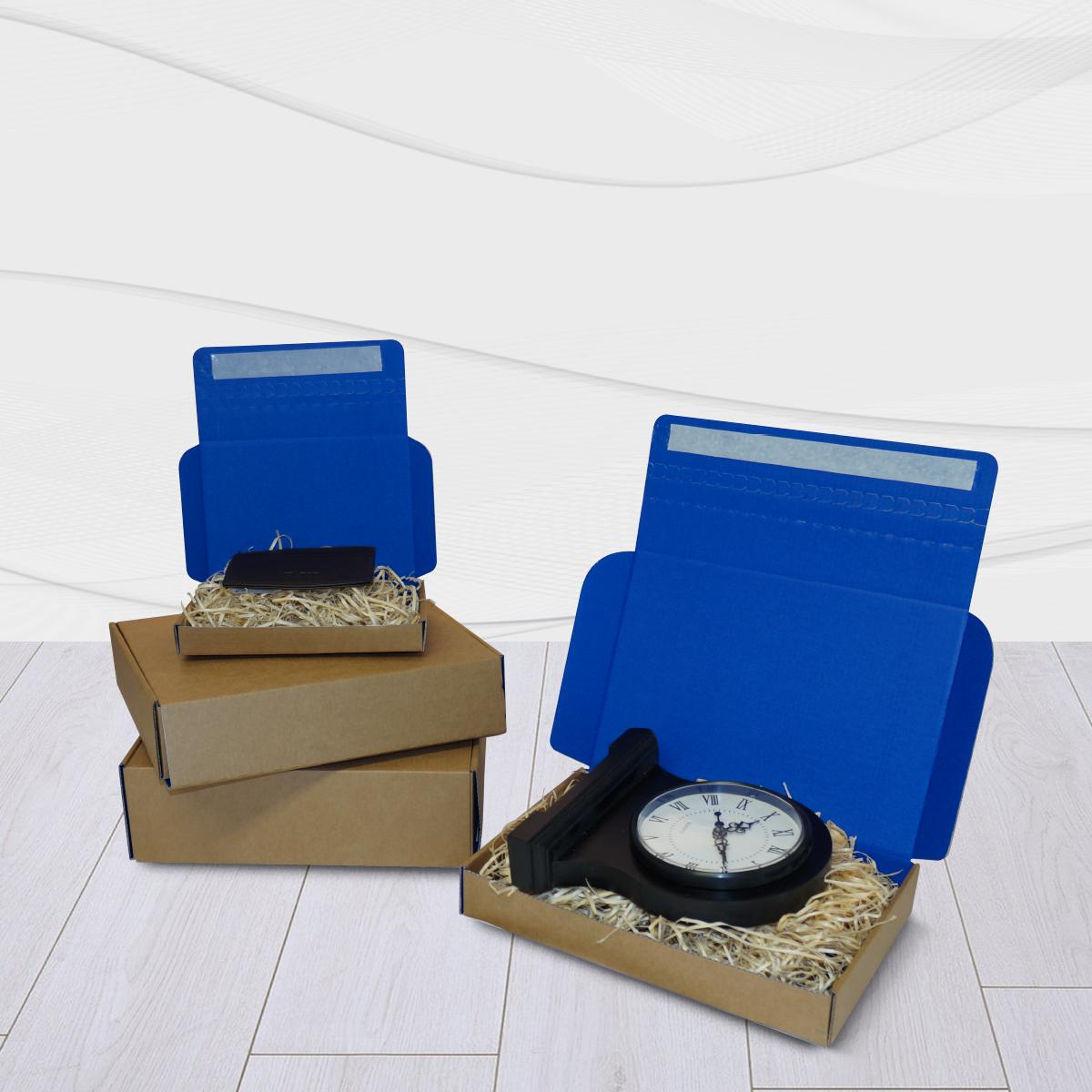 Blue Postal Boxes