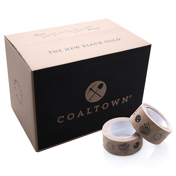 Coaltown Box and Tape