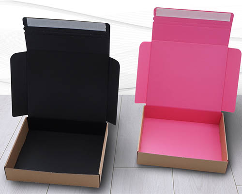 Pink and Black Postal Boxes
